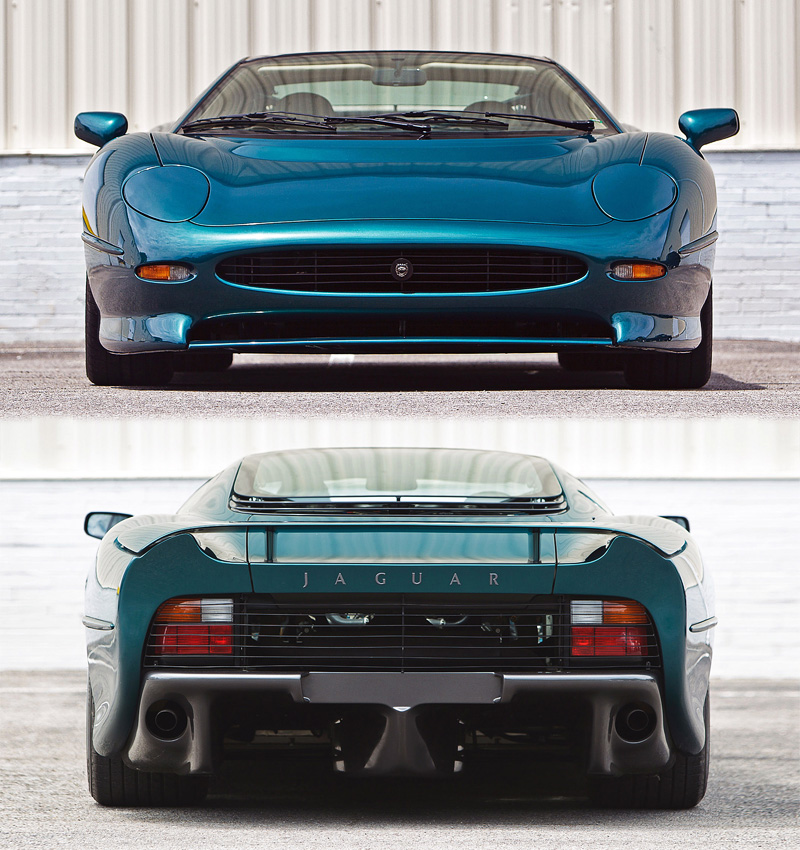 1991 Jaguar XJ220; top car design rating and specifications